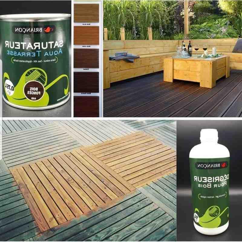Comment appliquer saturateur terrasse bois