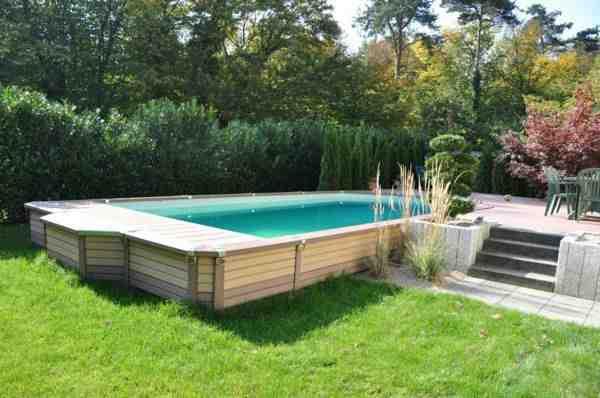 Comment installer une piscine bois semi enterré