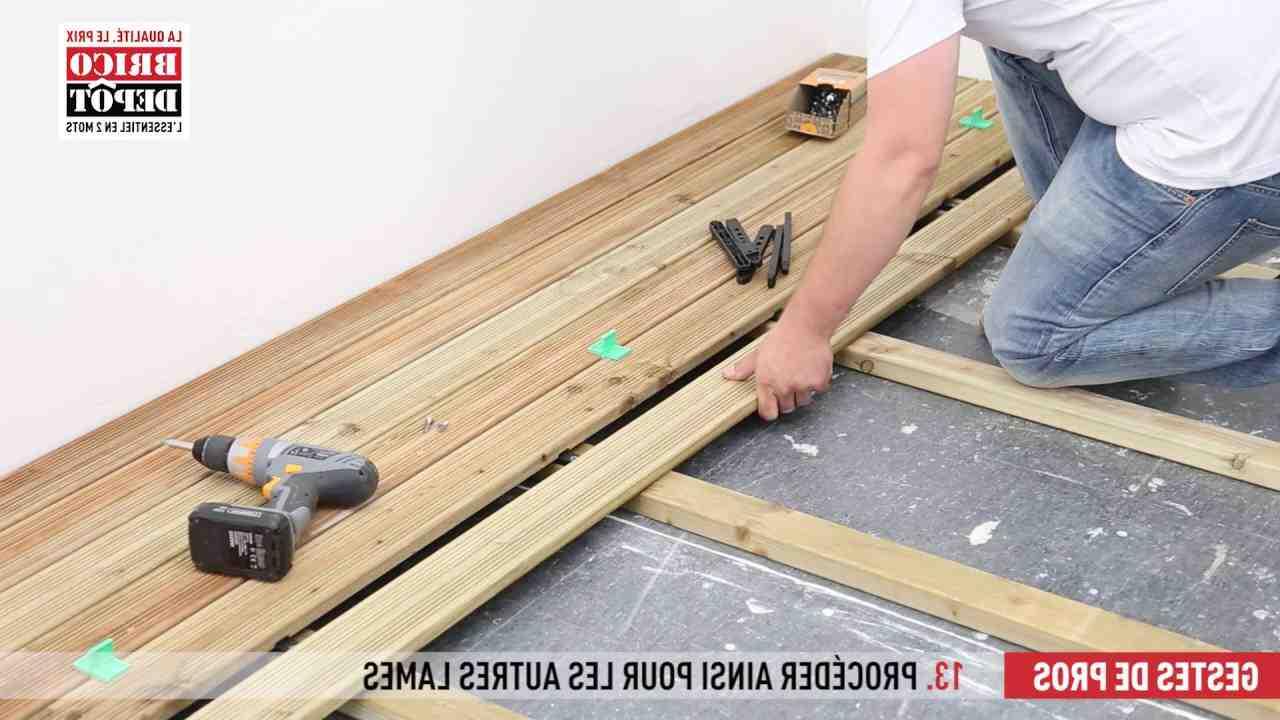 Comment visser lame terrasse bois