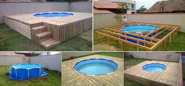 Comment cacher une piscine hors sol ?