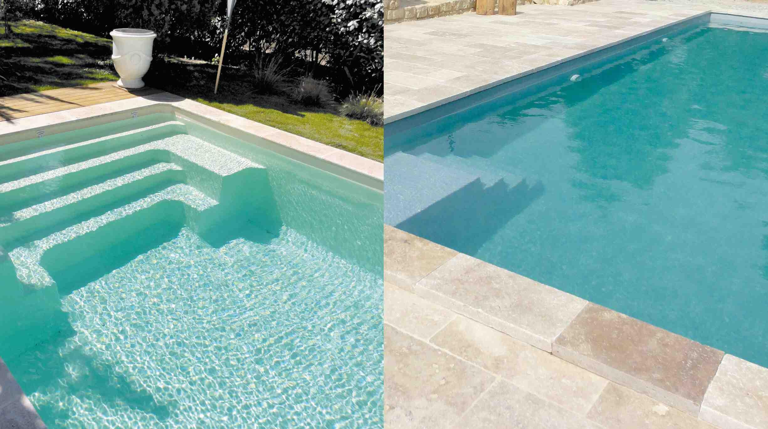 Quelle différence entre piscine béton et coque ?