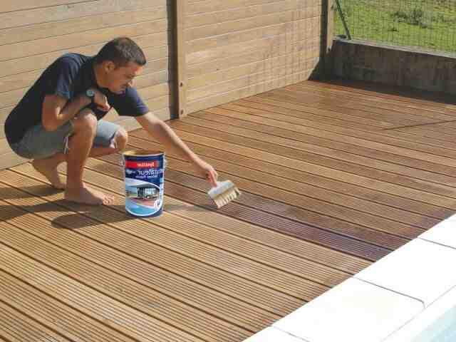 Quand appliquer saturateur terrasse bois ?